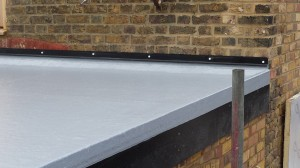 Flat roofing example