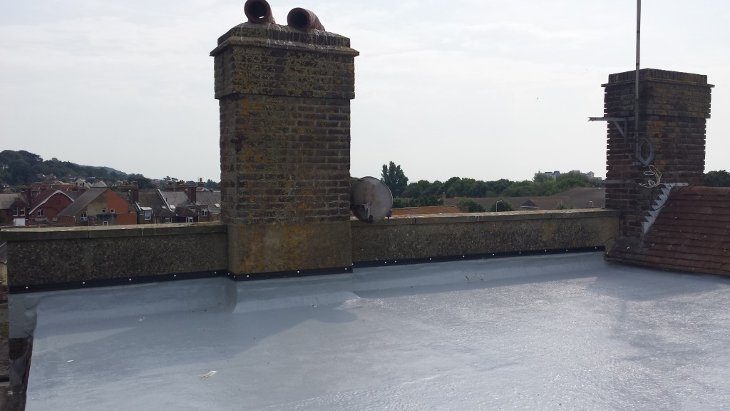 Flat roofing example 6