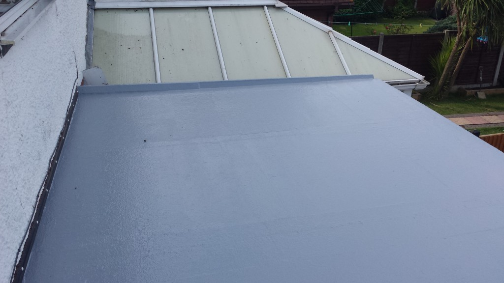 Flat roofing example 7