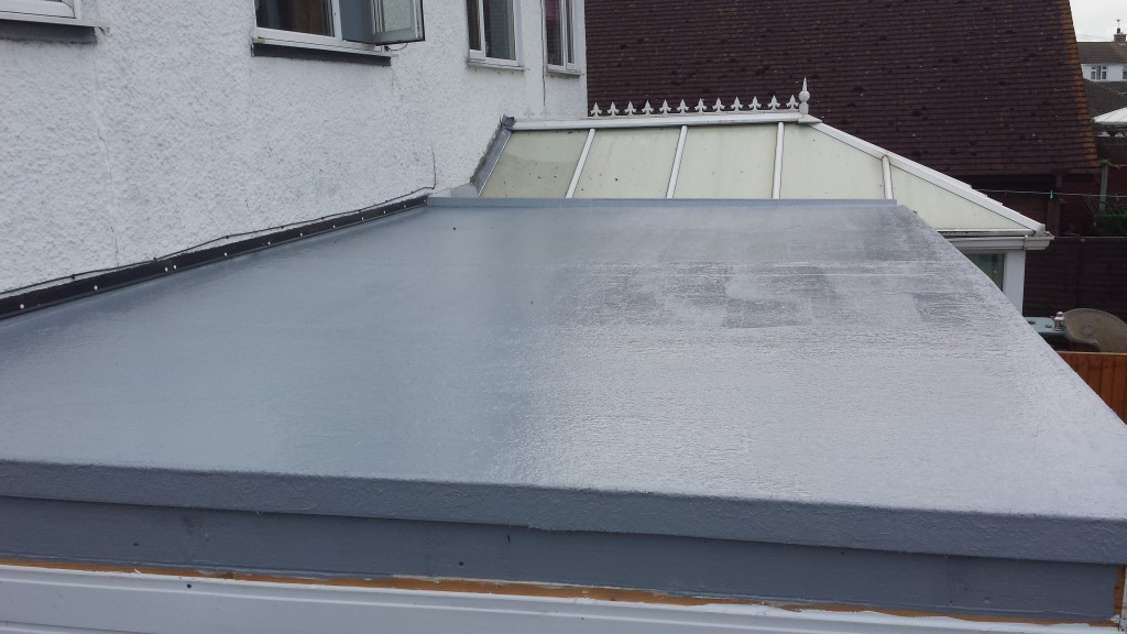 Flat roofing example 1