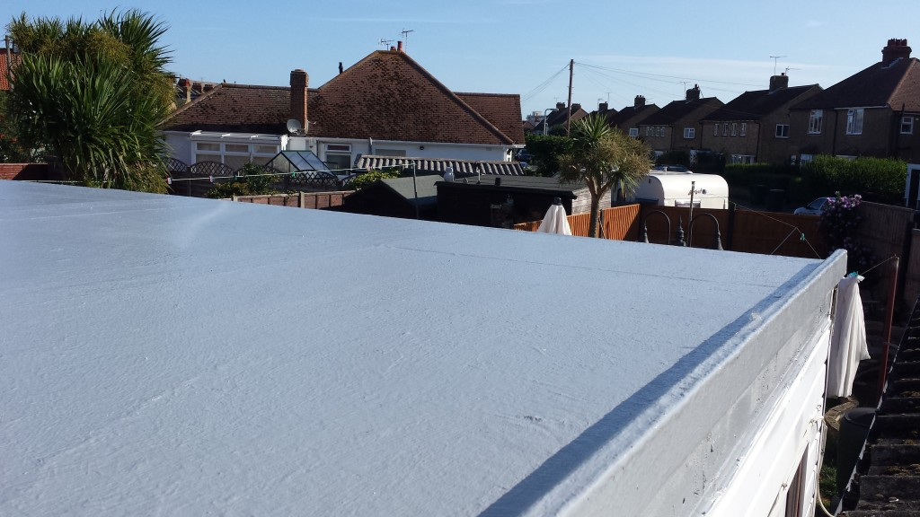 Flat roofing example 2