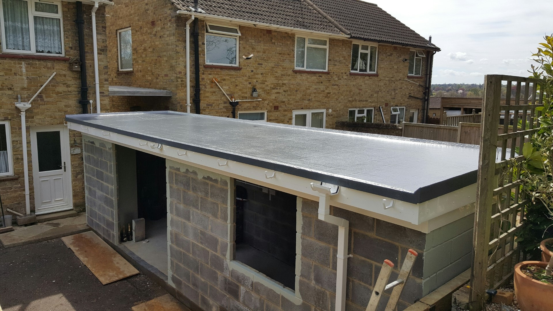 Flat roof picture 3