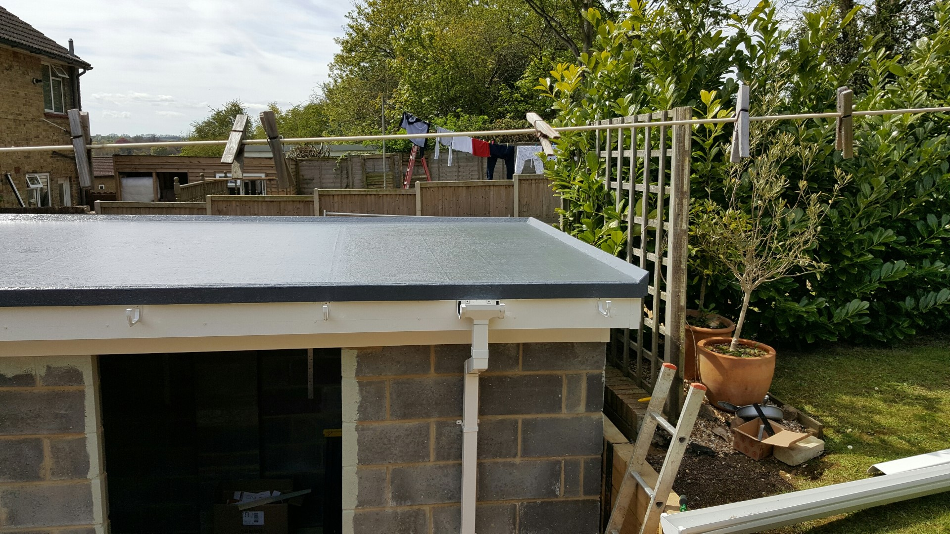 Flat roof picture 2