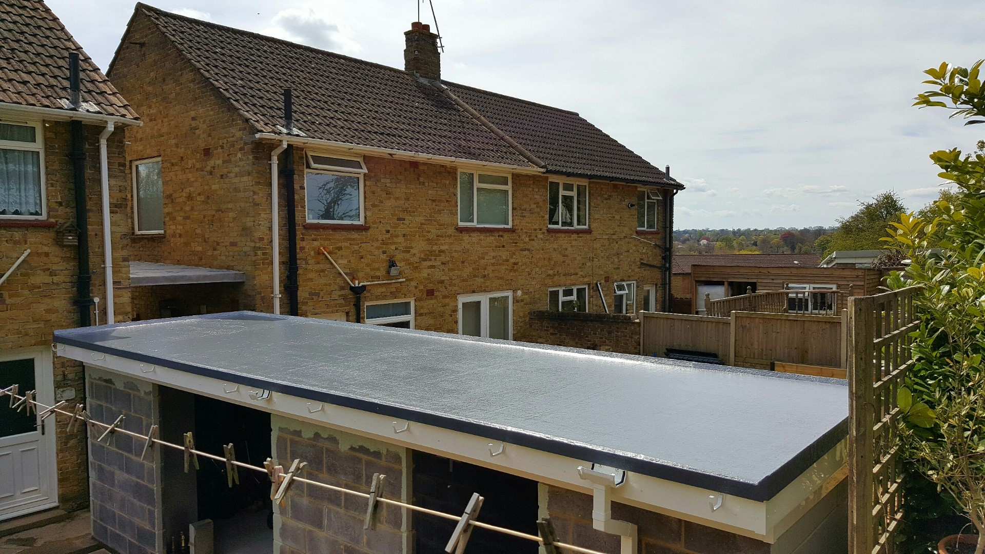 Flat roof picture 1